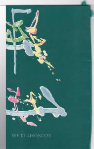 Cathay Pacific Airlines Economy Class Menu , 60-70s