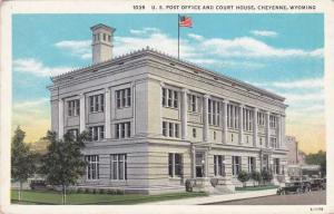 Post Office and Court House - Cheyenne WY, Wyoming - WB