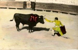 Mexico - Bullfight     RPPC