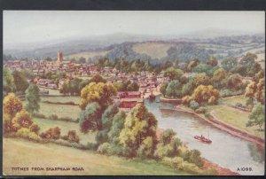 Devon Postcard - Totnes From Sharpham Road   DC2235