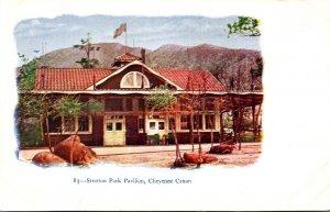 Coilorado Cheyenne Canon Stratton Park Pavilion