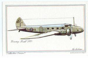 Boeing Model 247 Drawing by Johns-Byrne Co 1973