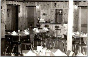Vintage 1950s Minnesota RPPC Real Photo Postcard Brookside Park Restaurant