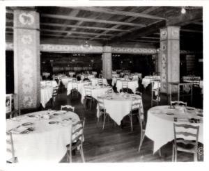 Haynes 28461, Old Faithful Inn Ding Room, Yellowstone