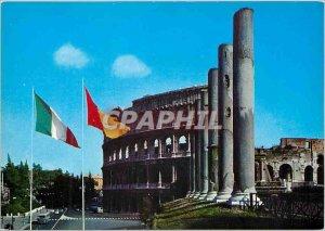 Postcard Modern Roma on Colysee
