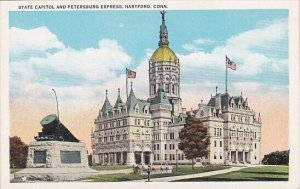 State Capitol And Petersburg Express Hartford Connecticut