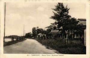CPA Tamatave- Pointe Tanio,Boulevard Gallieni MADAGASCAR (819863)