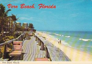 Driftwood Inn Boardwalk and Beach Scene Vero Beach Florida