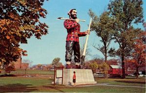 ME - Bangor. Paul Bunyan Statue