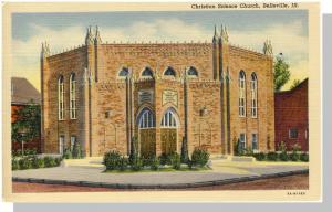 Belleville, Illinois/IL Postcard, Christian Science Church