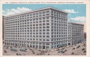 Marshall Field & Companys Retail Store State Washington Randolph And Wabash C...