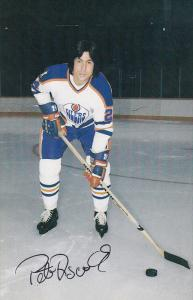 Edmonton Oilers Ice Hockey Player , EDMONTON , Alberta , Canada , 70-80s; Pet...