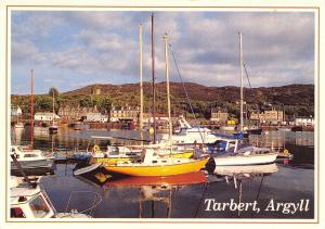 Postcard TARBERT Harbour, Argyll, Scotland by Whiteholme of Dundee #T