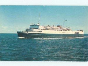 Pre-1980 BOAT SCENE Borden Pei To Cape Tormentine New Brunswick NB AF3934-12