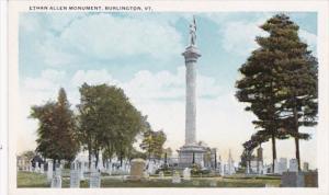 Vermont Burlington Ethan Allen Monument