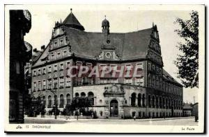 Postcard Thionville Old Post