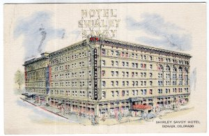 Denver, Colorado, Shirley Savoy Hotel