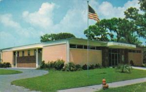 Florida New Port Richie Public Library 1967