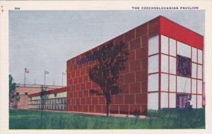 CZECHOSLOVAKIA, 1930's; The Czechoslavakian Pavilion
