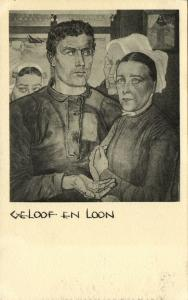 Dutch Symbolist JAN TOOROP - Faith and Remunerations