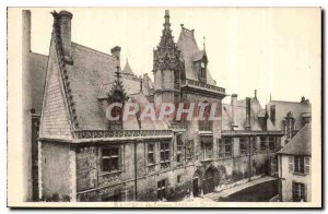 Old Postcard Bourges Palais Jacques Coeur