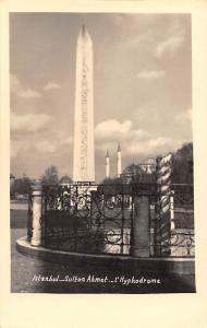 Turkey Istanbul Sulton Ahmet, L'Hyphodrome, Column, Sultanahmet