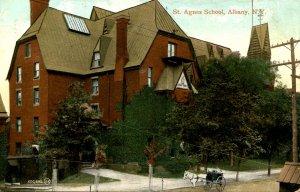 NY - Albany. St. Agnes School