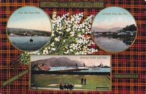 LAMIASH ISLE OF ARRAN, Scotland, 1900-1910's; East Bay From Pier, Lamiash Fro...