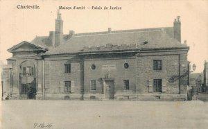 France Charleville Maison d'arrét Palais de Justice Military World War 1 04.91