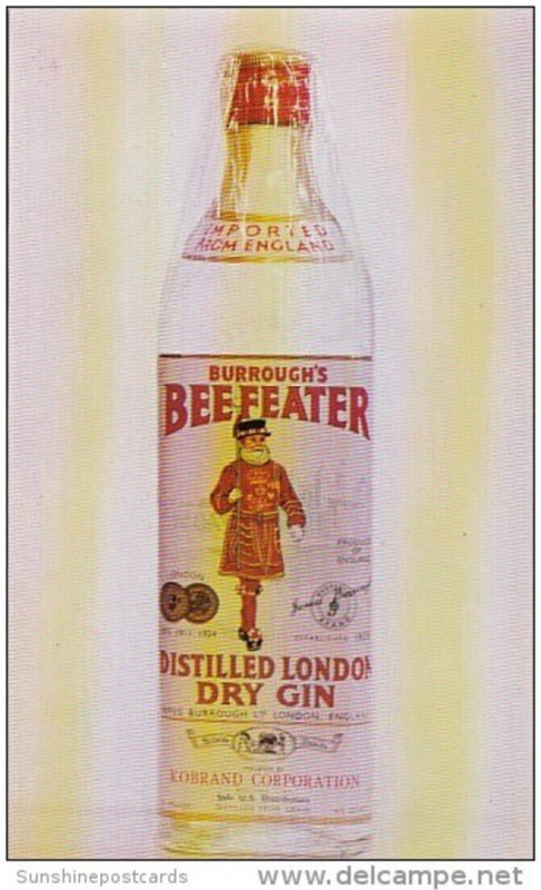Advertising Beefeater Distilled London Dry Gin