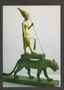 Statuette of the king upon a leopard - Treasures of Tutankhamun