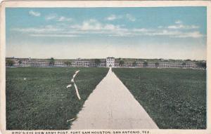 Bird´s-Eye View Army Post, Fort Sam Houston, San Antonio, Texas, 10-20s