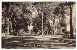 Orono, Maine, Main Street