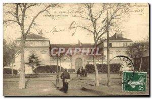 Old Postcard Caen The Hotel de la Prefecture
