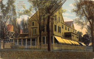 F52/ Tolchester Beach Maryland Postcard 1914 Hotel Tolchester Building