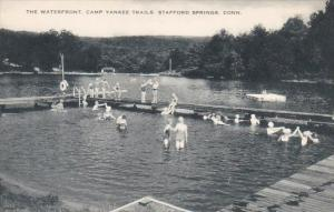 The Waterfront Camp Yankee Trails Stafford Springs Connecticut  Artvue