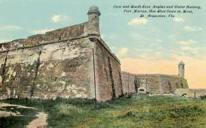 FL - St. Augustine. Fort Marion