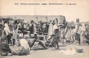 Mali Soudan Bandiagara Le Marche, Market, Commerce