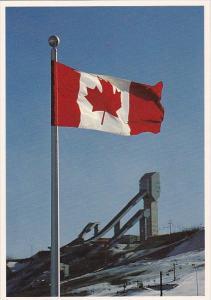 Canada Flag Calgary Alberta