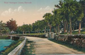 Road Harrington Sound on Bermuda - DB