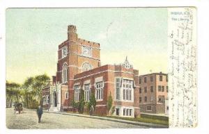 The Library, Nashua, New Hampshire, PU-1907