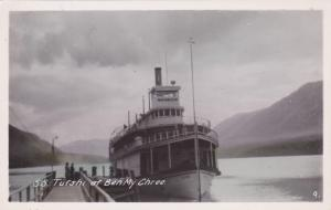 RP; Steamer S.S. TUTSHI at Ben My Chree, B.C. , Canada , 20-30s