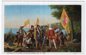 Landing Of Columbus On San Salvador, Oct. 12, 1492