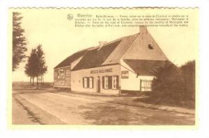 Waterloo , Belgium, 1910s ; Belle-Alliance; Hotel-Restaurant des Touristes ; ...