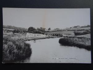 Dorset CHARMOUTH Boating on the RIVER CHAR - Old RP Postcard by Frith