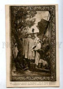 183956 FRANCE DELAUNAY tomb painting pantheon DEATH Vintage