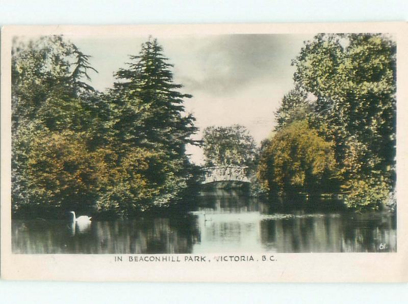 1940's rppc NICE VIEW Victoria - Vancouver Island British Columbia BC W0974