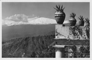 TAORMINA SICILY ITALY~ L'ETNA LICARI PHOTO POSTCARD