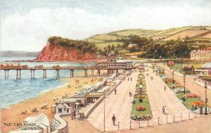 Teignmouth pesplanade pier