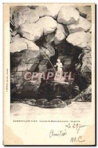 Old Postcard Rambouillet Laiterie Marie Antoinette Cave